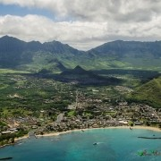 Aerial Photo Waianae Valley